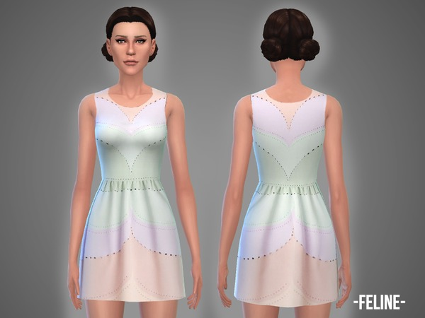 Belle dresses set by April at TSR image 760 Sims 4 Updates