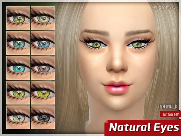 Sims 4 Natural Eyes by tsminh 3 at TSR