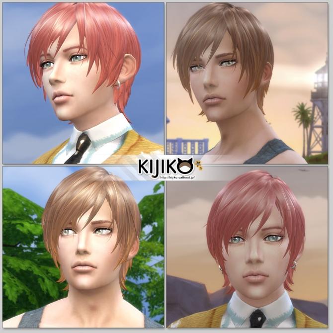 Round Bob (Male) at Kijiko image 768 Sims 4 Updates