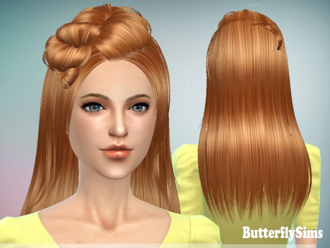 Sims 4 Hair078 by YOYO (Pay) at Butterfly Sims