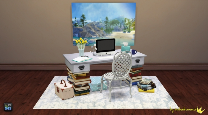 3t4 Office Conversion At In A Bad Romance 187 Sims 4 Updates