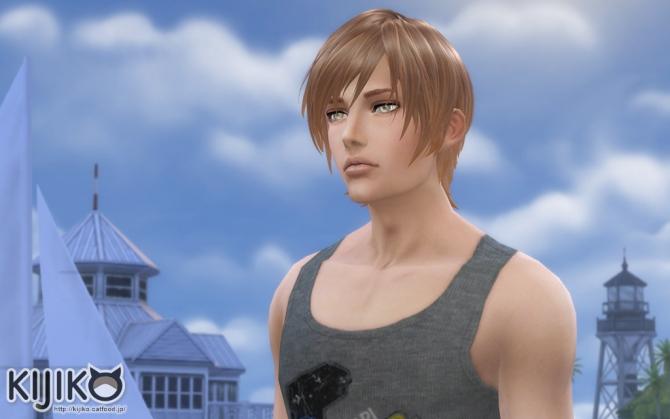 Round Bob (Male) at Kijiko image 779 Sims 4 Updates