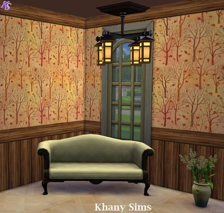 Wood Walls (paneling) at Khany Sims image 790 Sims 4 Updates