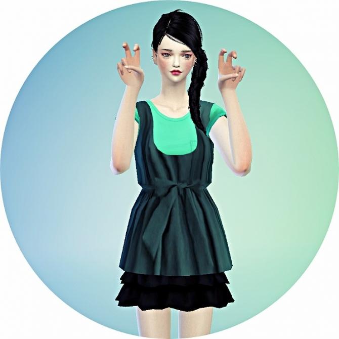 Layered top 2 at Marigold image 7911 Sims 4 Updates