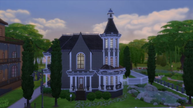 Sims 4 Gothic Victorian by RayanStar at Mod The Sims