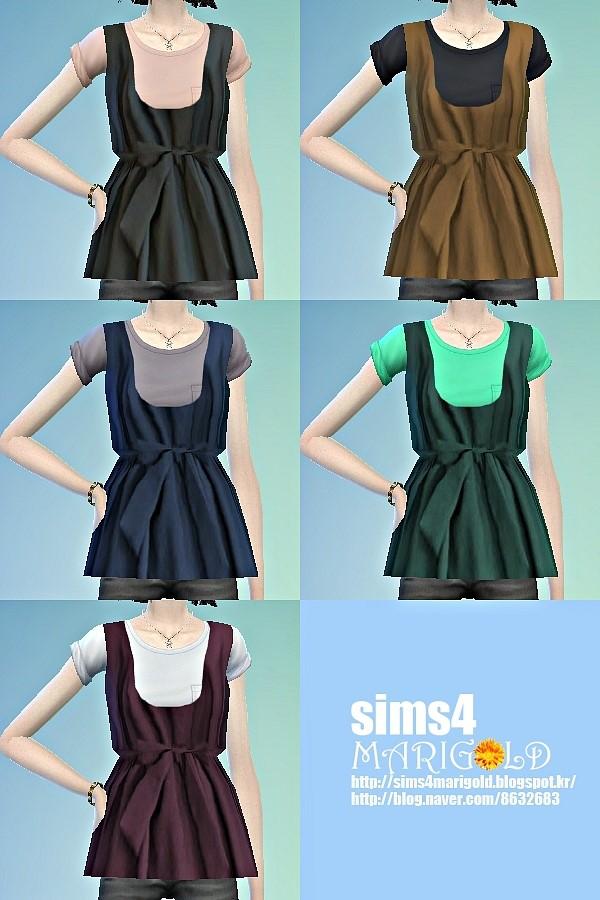 Layered top 2 at Marigold image 8012 Sims 4 Updates