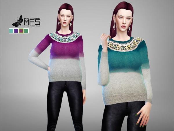 MFS Kaya Jumper by MissFortune at TSR image 830 Sims 4 Updates