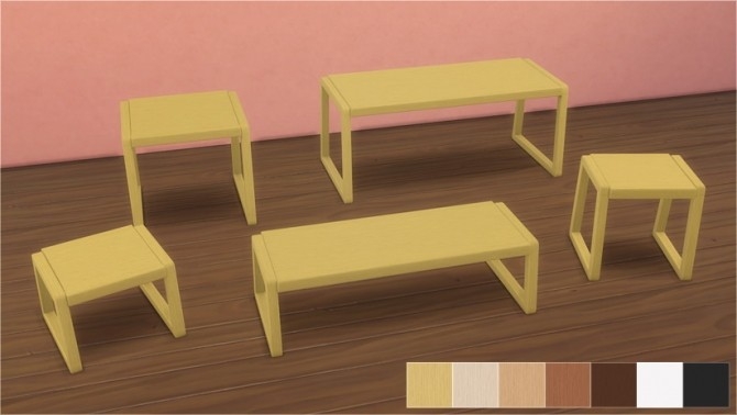 Sims 4 Dorm Tables at Veranka