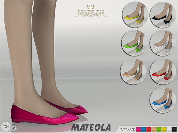 Madlen Mateola Ballet Flats by MJ95 at TSR image 8411 Sims 4 Updates