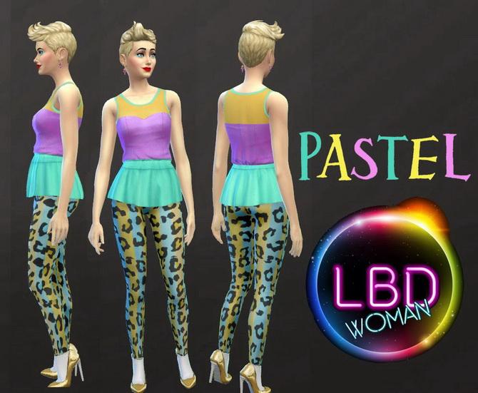 LBD Pastel SS15 by jeancr874 at La Boutique de Jean image 850 Sims 4 Updates