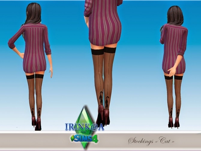 Cat stockings at Irink@a image 8617 670x503 Sims 4 Updates