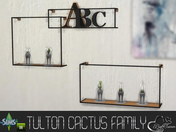 Tulton Cactus Family by BuffSumm at TSR image 8631 Sims 4 Updates