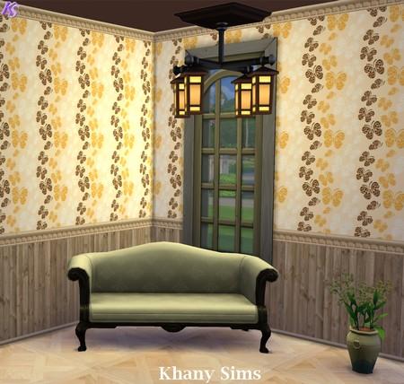 Wood Walls (paneling) at Khany Sims image 870 Sims 4 Updates