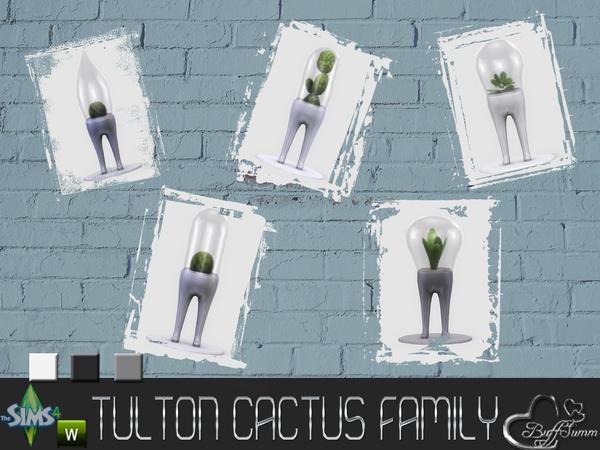Tulton Cactus Family by BuffSumm at TSR image 8731 Sims 4 Updates