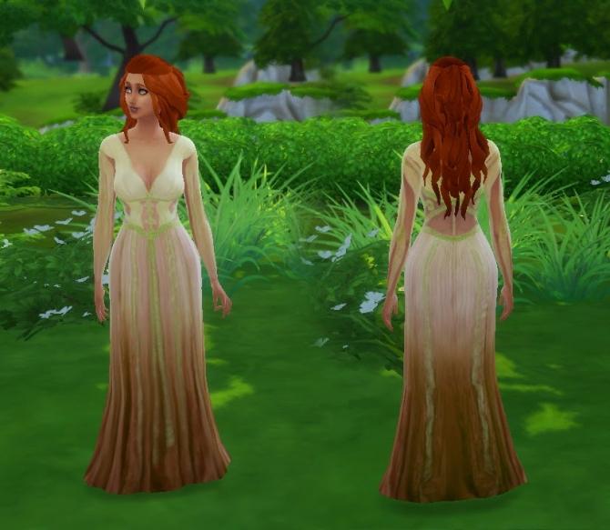 Sims 4 Aleeras Gown by Kiara at My Stuff