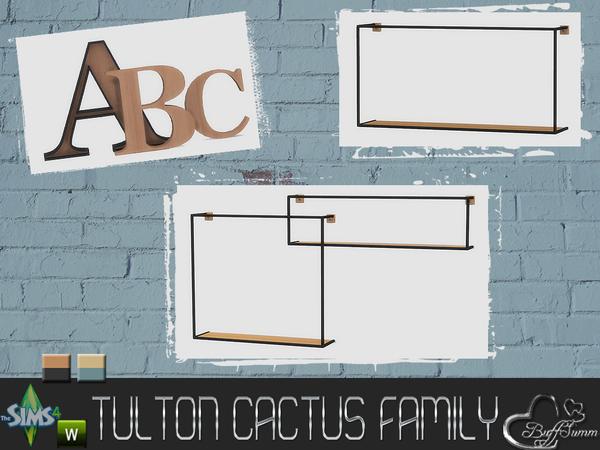 Tulton Cactus Family by BuffSumm at TSR image 8831 Sims 4 Updates