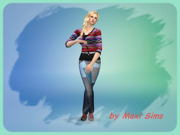Moniq by Maxi Sims at Akisima image 8915 Sims 4 Updates