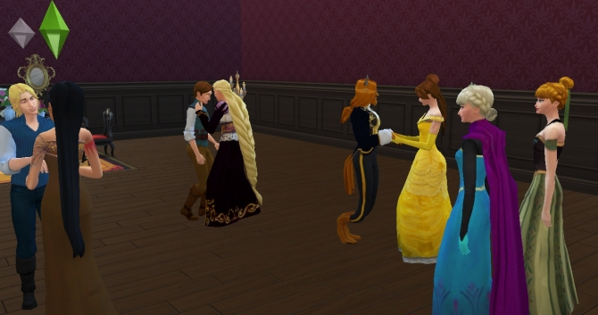 Elsa Anna amp Kristoff by mickeymouse254 at Mod The Sims  : 893 from sims4updates.net size 670 x 353 jpeg 147kB