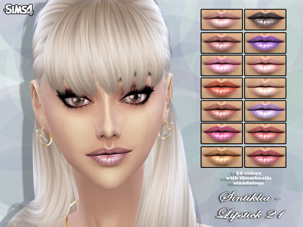 Lipstick 21 by Sintiklia at TSR image 9031 Sims 4 Updates