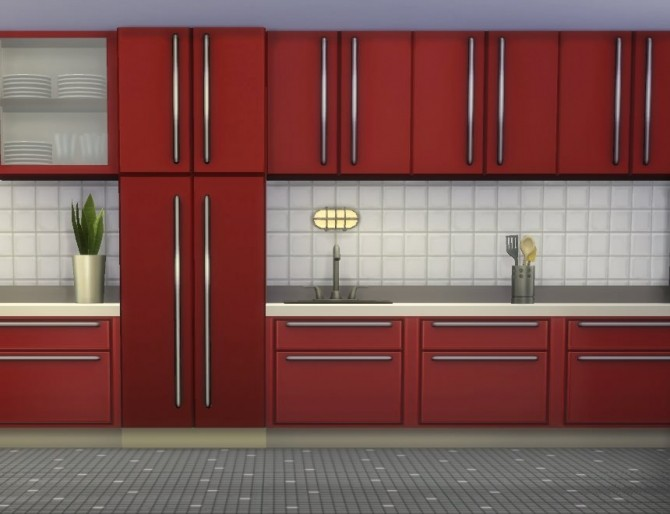 Sims 4 The Harbinger Fridge by plasticbox at Mod The Sims