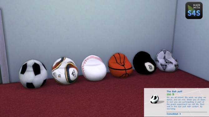 Sims 4 The ball puff by necrodog at Mod The Sims