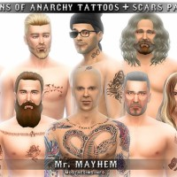 Sons of Anarchy's Tattoos