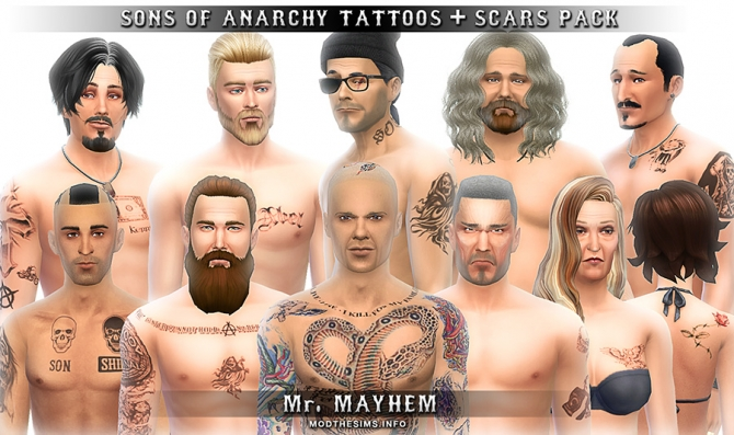 Sims 4 scars downloads » Sims 4 Updates