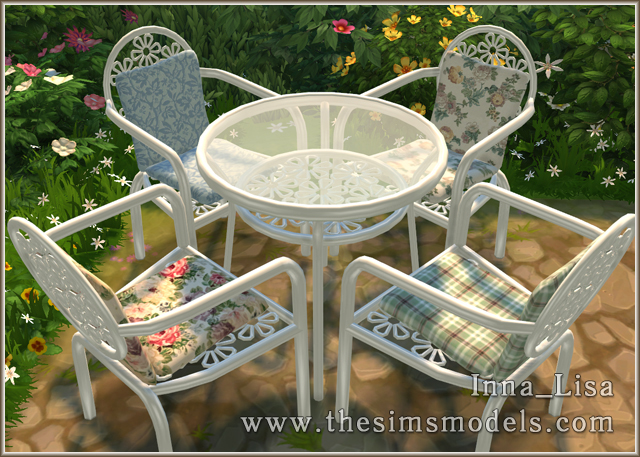 Forged furniture set by Inna Lisa at The Sims Models image 9411 Sims 4 Updates