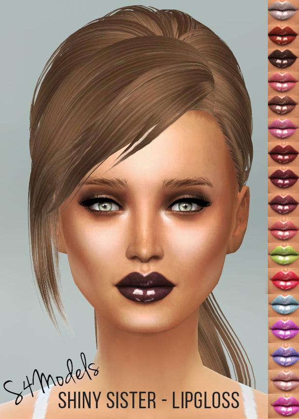ShinySisters LipGloss at S4 Models image 9461 Sims 4 Updates
