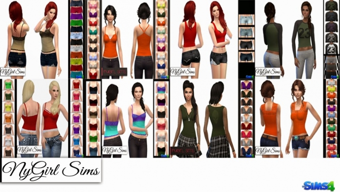 Sims 4 Fixed CC Files at NyGirl Sims