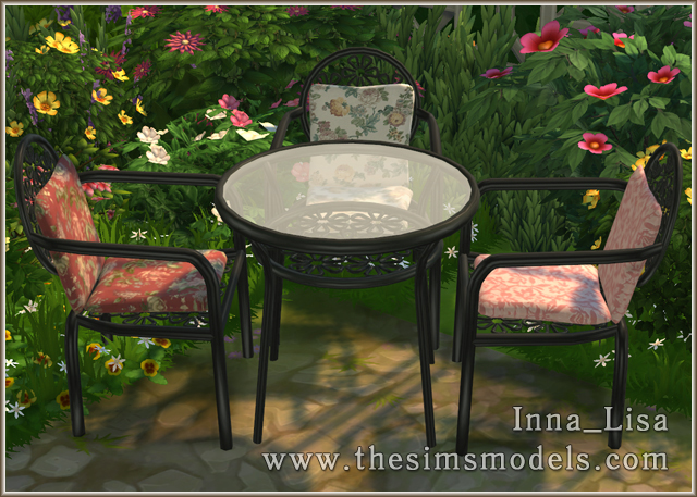 Forged furniture set by Inna Lisa at The Sims Models image 951 Sims 4 Updates