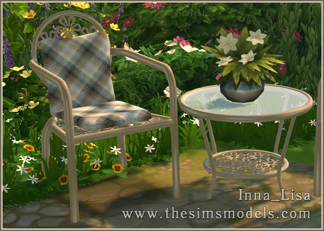 Forged furniture set by Inna Lisa at The Sims Models image 961 Sims 4 Updates