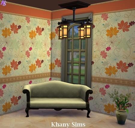 Wood Walls (paneling) at Khany Sims image 970 Sims 4 Updates