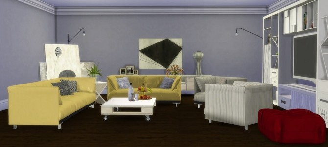 Sims 4 Mango Sims' Courcelles SAM Dining recolors at Msteaqueen