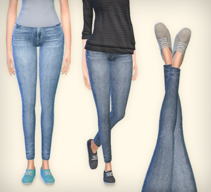 Sims 4 Canvas shoes at Simsrocuted