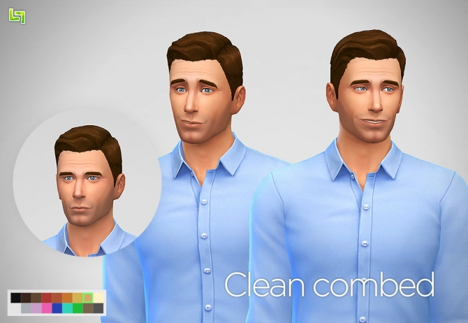 Two mesh edit haircuts for males at LumiaLover Sims image 9810 Sims 4 Updates
