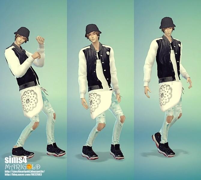 Pants scarf acc at Marigold image 10125 670x601 Sims 4 Updates