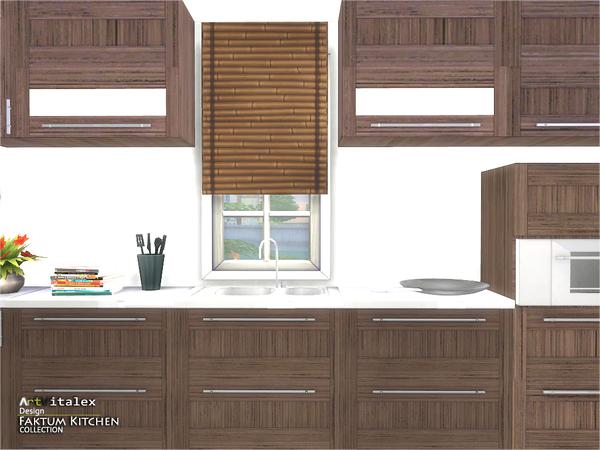 Sims 4 Faktum Kitchen by ArtVitalex at TSR