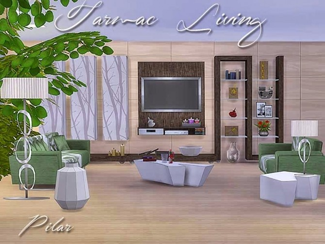 at home furniture tarmac living by pilar at simcontrol 187 sims 4 updates 10129