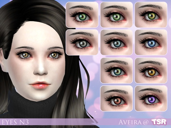 Eyes N3 By Aveira At Tsr 187 Sims 4 Updates