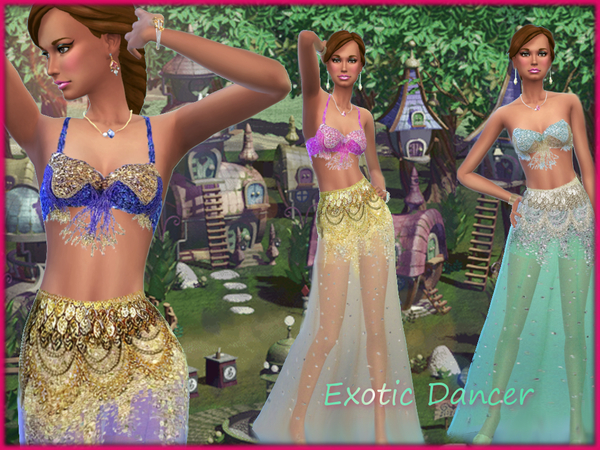 Exotic Dancer Clothes by alin2 at TSR image 1015 Sims 4 Updates