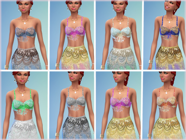 Exotic Dancer Clothes by alin2 at TSR image 1022 Sims 4 Updates