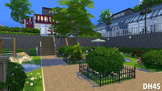 The Old Stones Mall by Samuel at DH4S image 1030 670x377 Sims 4 Updates