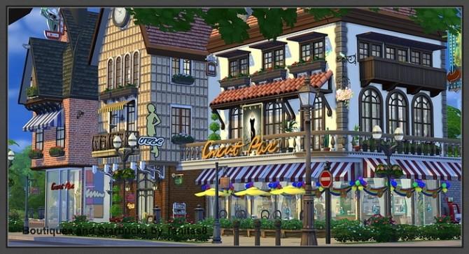 Boutiques and Starbucks at Tanitas8 Sims image 1033 670x363 Sims 4 Updates