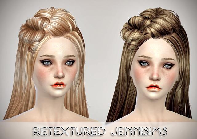 Sims 4 Butterflysims 078 Hair retextured at Jenni Sims