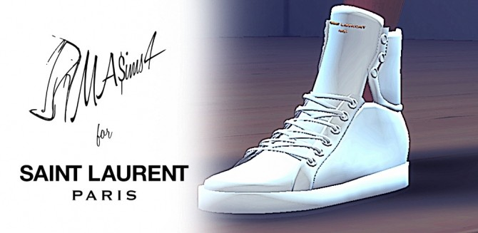 High Top Sneakers by MrAntonieddu at MA$ims3 image 10622 670x327 Sims 4 Updates