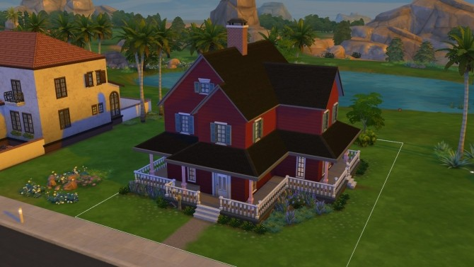 Sims 4 Project Rebuild: Family Farmhouse by mixa97sr at Mod The Sims