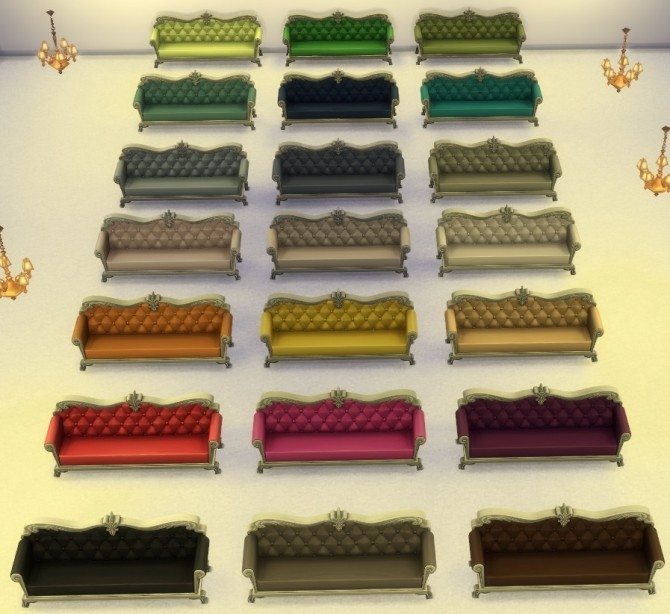 DePablo Couch Recolor Light Wood by lexiconluthor at Mod The Sims image 10717 670x614 Sims 4 Updates