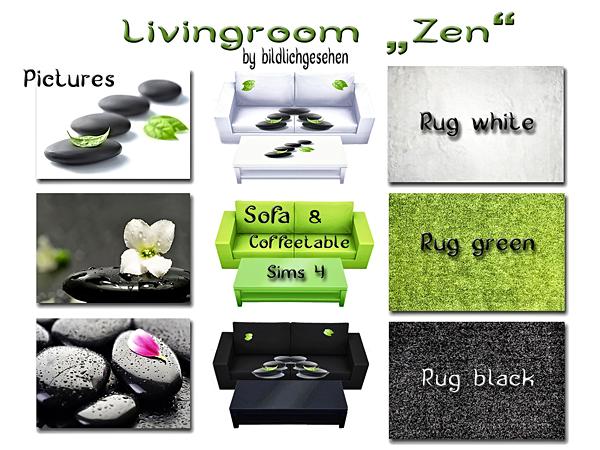 Zen livingroom by Bildlichgesehen at Akisima image 10720 Sims 4 Updates