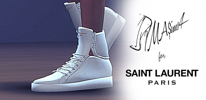 Sims 4 High Tops Downloads 187 Sims 4 Updates
